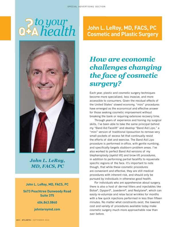 John-LeRoy_Atlanta-Magazine-Plastic-Surgery-Ad