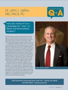 Dr LeRoy in Atlanta Magazine