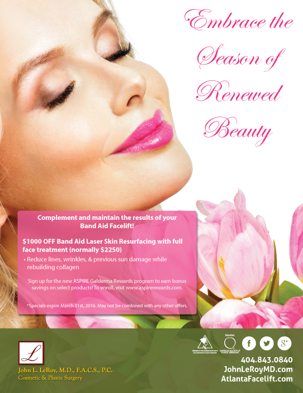 laser resurfacing discounts