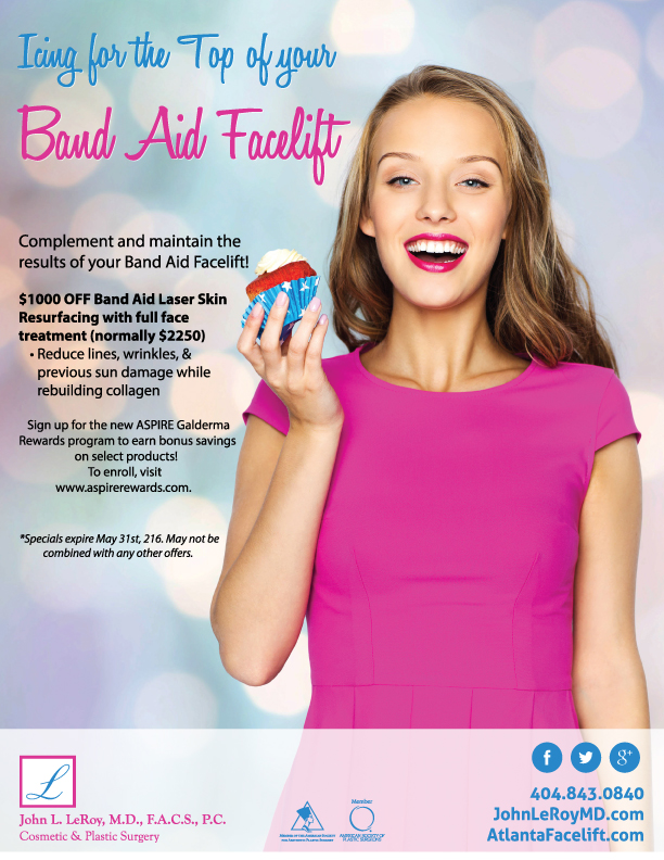 Band Aid Plastic Surgery Discounts in Atlanta GA